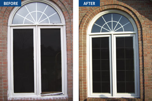 Before After Window Makeover