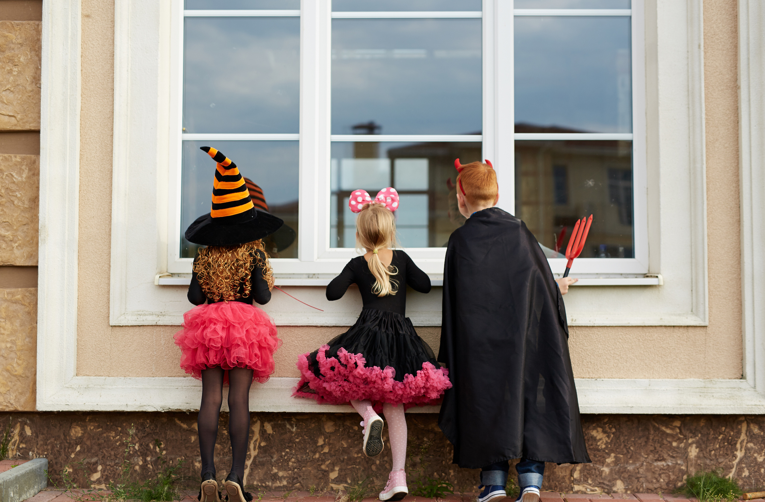 Trick or Treaters Outside Windows | Window Repair Preparation | Window Makeover