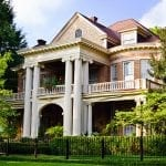 Historic Southern home with older windows | Historic Home Windows | Window Makeover