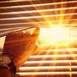 Warm sun on midday peaking through the window | window repair | Window Makeover
